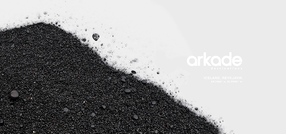 Arkade Destinations Iceland Album Artwork