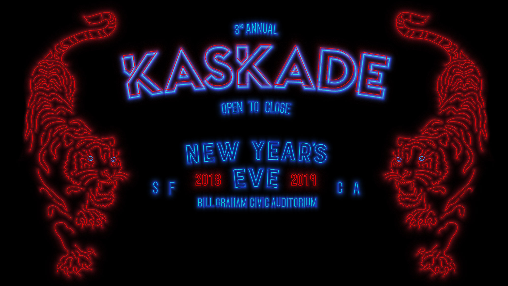 new years eve one night only kaskade open to close