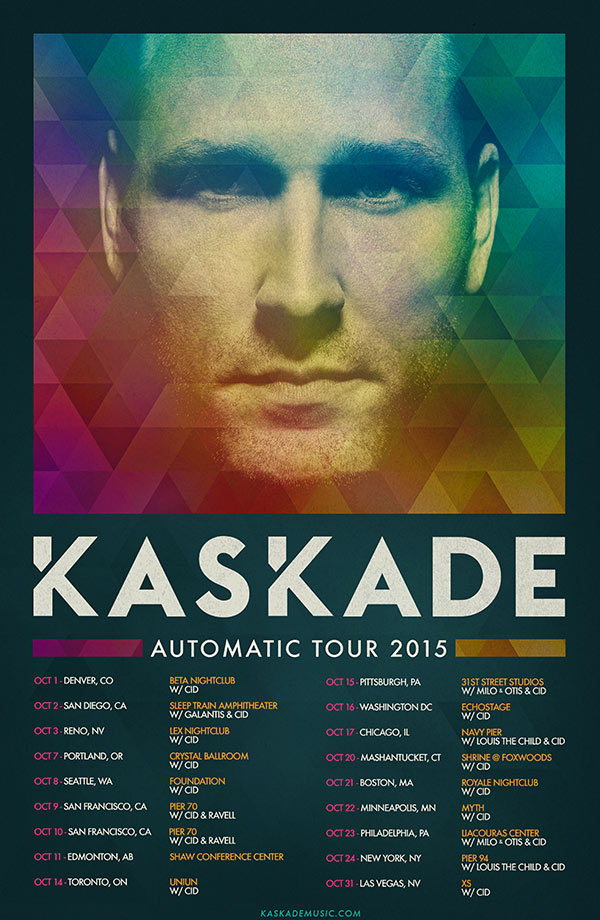 Automatic Tour Dates & Supporting Acts