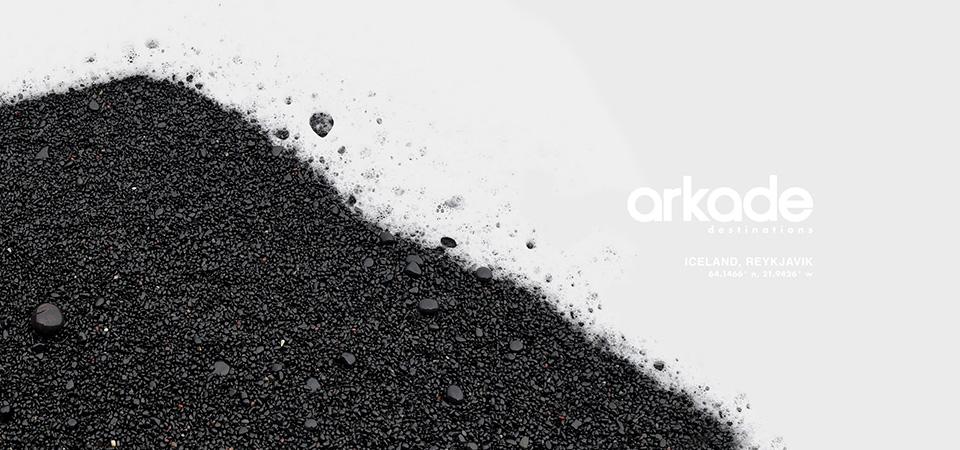 Arkade Destinations Iceland Album Artwork